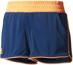 Adidas Court Short Mystery Blue /Glow Orange