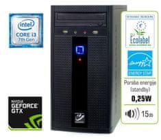 mimovrste=) namizni računalnik PLUS - i3-7100/8GB/1TB/GTX1050-2GB