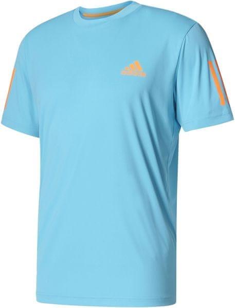 Adidas Club Tee Samba Blue /Glow Orange L