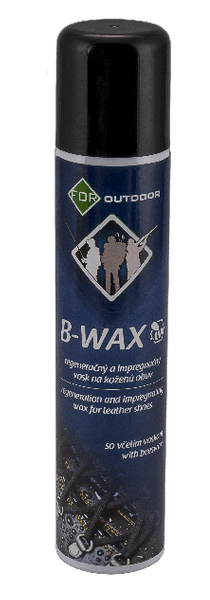 FOR B-WAX regenerační a impregnační vosk na kůži - sprej 200ml