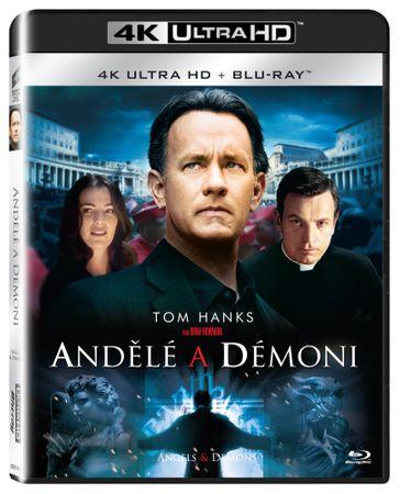 Andělé a démoni    (2 disky) - Blu-ray + 4K ULTRA HD