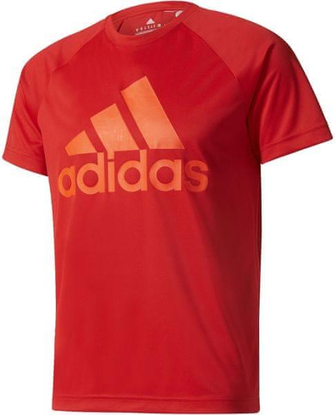 Adidas D2M Tee Logo Scarlet M