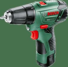 BOSCH EasyDrill 12-2 Akkus kétfokozatú fúrócsavarozó (1 x 2,5 Ah akkumulátor)