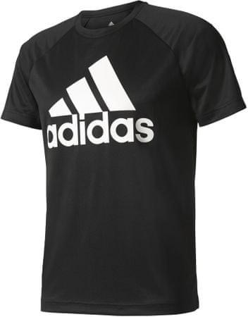 Adidas koszulka D2M Tee Logo Black XL