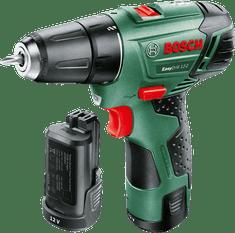 BOSCH EasyDrill 12-2 Akkus kétfokozatú fúrócsavarozó (2 x 2,5 Ah akkumulátor)