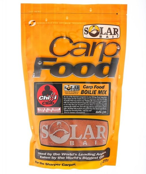 Solar Boilie Mix Quench Orange Pineapple Strawberry 1 kg