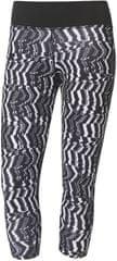 Adidas legginy D2M 3/4 Tigh P2 Print/Black