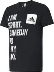 Adidas kratka majica I Am Sport, črna