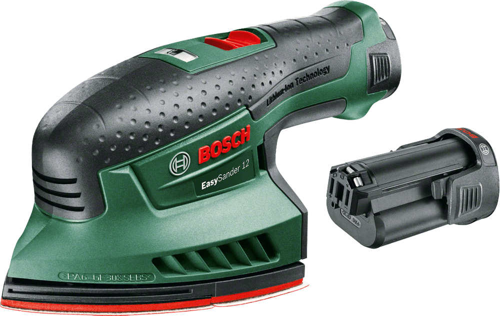 Bosch akumulátorová multibruska EasySander 12 060397690B - zánovní