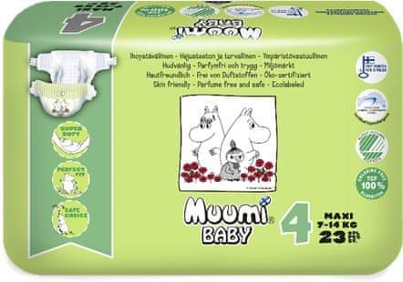 MUUMI BABY 4 Maxi 7-14 kg (23 ks)