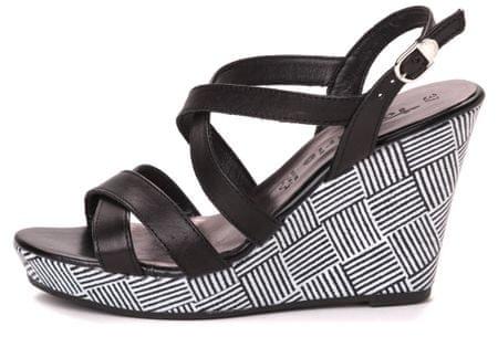 Tamaris ženski sandali Selina 38 črna