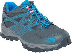 The North Face pohodniški čevlji Jr Hedgehog Hiker Wp, sivi/modri