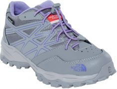 The North Face Buty Jr Hedgehog Hiker Wp Q-silver grey/Paisley purple
