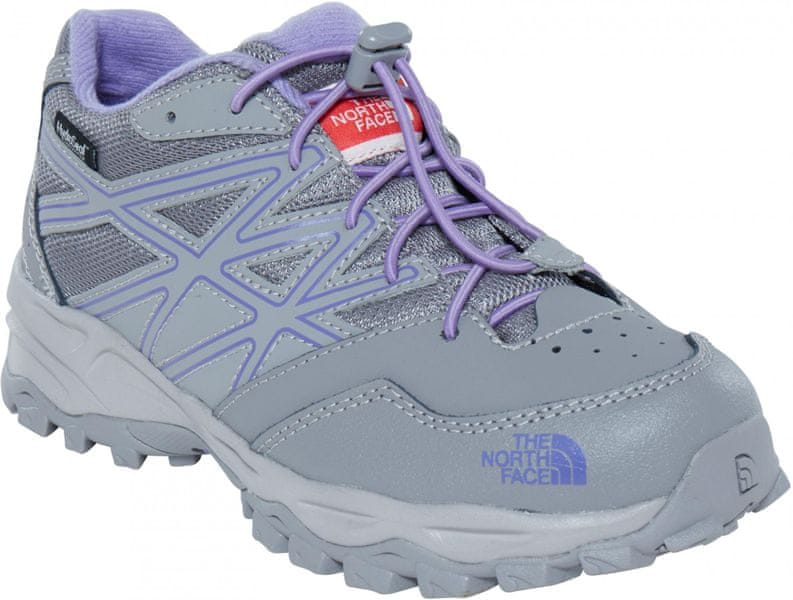 The North Face Jr Hedgehog Hiker Wp Q-silver grey/Paisley purple 35