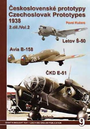 Kučera Pavel: Československé prototypy 1938 - 2. díl