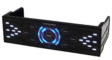 LC Power kontroler ventilatorjev Airazor 5,25 (LC-CFC-LED)
