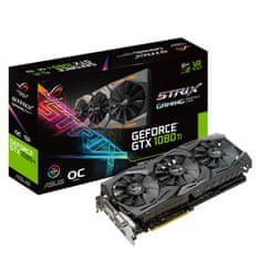 Asus grafična karticaAsus GeForce GTX 1080 Ti OC Strix, 11GB GDDR5X (STRIX-GTX1080TI-O11G-GAMING)