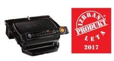 Tefal električni kontaktni žar GC714812 OptiGrill+, črn + posoda za pripravo prigrizkov