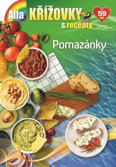 Křížovky s recepty 1/2017 - Pomazánky
