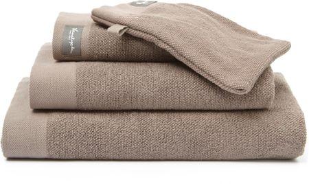 Vandyck ręcznik kąpielowy Home UNI 70x140 cm, brązowy