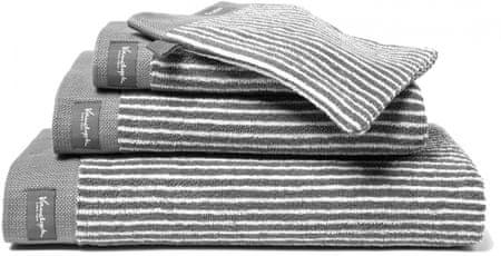 Vandyck ręcznik Home Petit Ligne 60x110 cm, szary