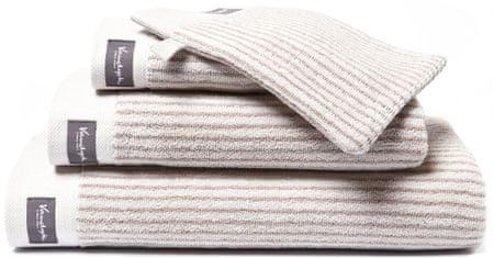 Vandyck ręcznik Home Petit Ligne 60x110 cm, beżowy