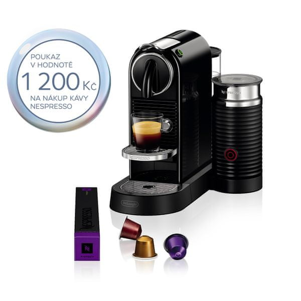 Nespresso DeLonghi Citiz&milk EN 267 BAE