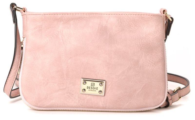 Bessie London růžová kabelka