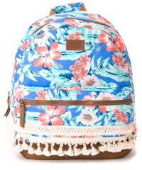 Rip Curl dámský modrý batoh Mia Flores Dome