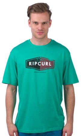 Rip Curl pánské tričko Losange Logo L zelená