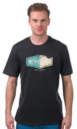 Rip Curl pánské tričko Losange Logo L tmavě šedá