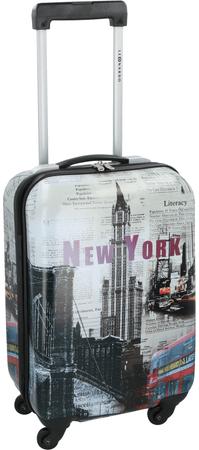 Leonardo kabinski kovček New York, 33 l