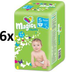 Magics plenice Flexidry Junior (11-25kg) Megapack 96 kosov