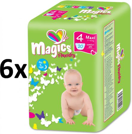 Magics plenice Flexidry Maxi (7-18kg) Megapack 120 kosov