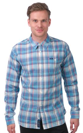 Pepe Jeans moška srajca Keen L modra