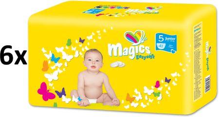 Magics plenice Easysoft Junior (11 - 25 kg) Megapack 252 kosov
