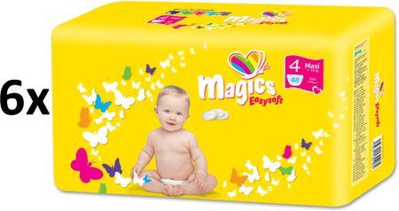 Magics plenice Easysoft Maxi (7-18kg) Megapack 288 kosov