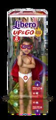 Libero Up & Go (8) pelenka - 30 db