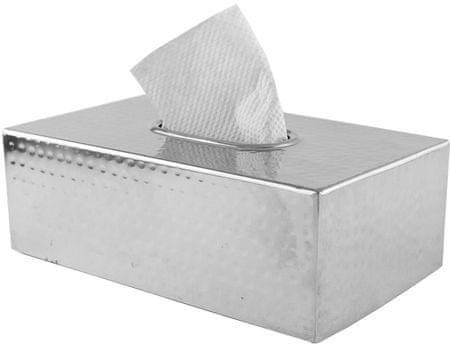 Fackelmann Box na papírové kapesníky, nerez