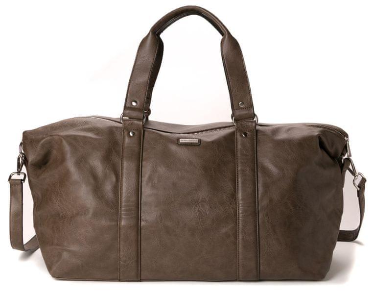 Bobby Black pánská khaki taška