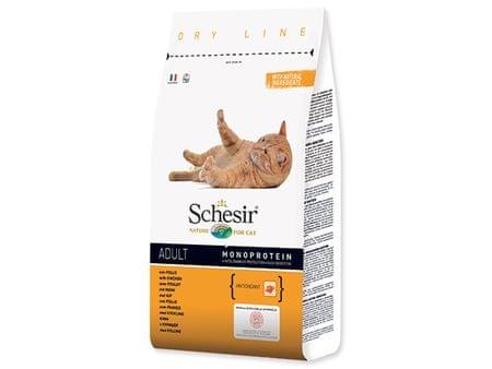 Schesir sucha karma dla kota z kurczakiem 1,5 kg