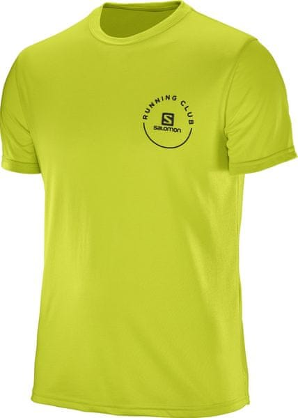 Salomon Pulse Ss Tech Tee M Lime Punch S