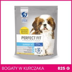 Perfect fit sucha karma dla psa Junior S/XS 5 x 825 g