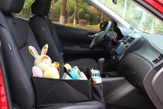 BabyDan Organizér do auta, Melange Grey