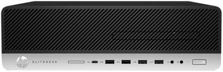 HP namizni računalnik EliteDesk 800 G3 SFF i7-7700/8GB/256GB SSD/Win10Pro (1HK65EA)