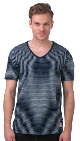 Mustang T-shirt męski L ciemnoniebieski