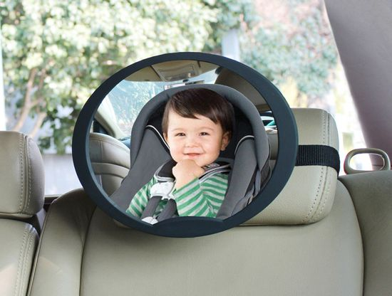 BabyDan lusterko wsteczne do samochodu regulowane