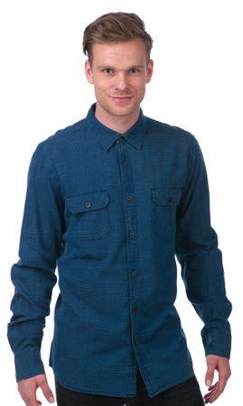 Mustang moška srajca L modra