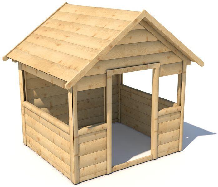 CUBS Dětský dřevěný domeček Malíček