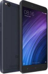 Xiaomi Redmi 4A, 2GB/32GB, CZ LTE, Dual SIM, tmavě šedý